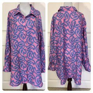 Soft Surroundings silk blouse